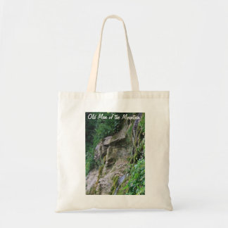 Old Man of the Mountain Budget Tote Bag