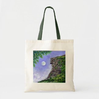 OLD MAN OF THE MOUNTAIN New Hampshire Art Tote Bag