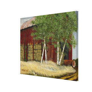 "Old Man Walker's Barn (22.97"" x 18.10"" x 0.75 Canvas Print"