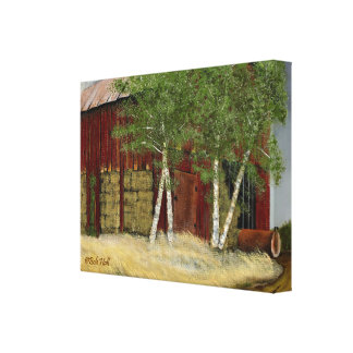 "Old Man Walker's Barn (26.34""x 20.10"" x 2.5"") Canvas Print"