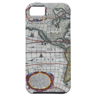 old map Americas Tough iPhone 5 Case