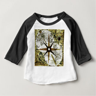 Old map baby T-Shirt