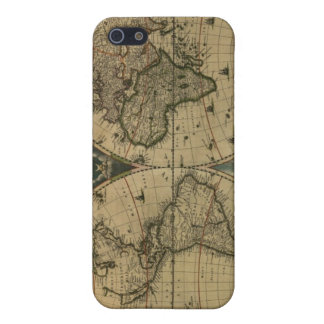 Old Map Globe iPhone 5 Case