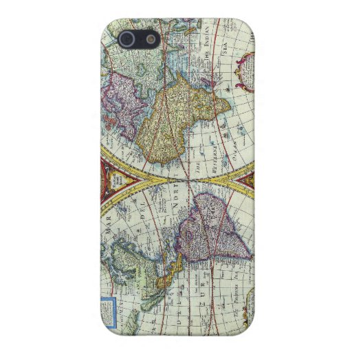 old map iPhone 5 covers