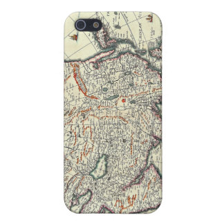 old map iPhone 5 case
