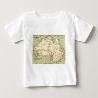 Old map of Australia Baby T-Shirt