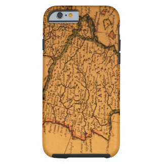 Old map of Spain iPhone 6 Case