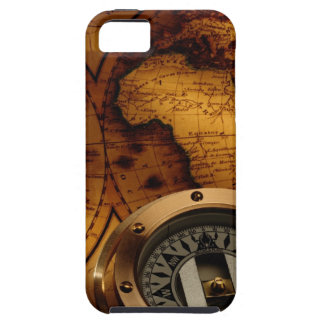 Old Map Tough iPhone 5 Case