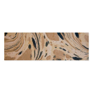 Old marbled texture business card