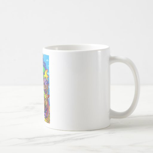 Old Masterpiece by Piliero Coffee Mugs