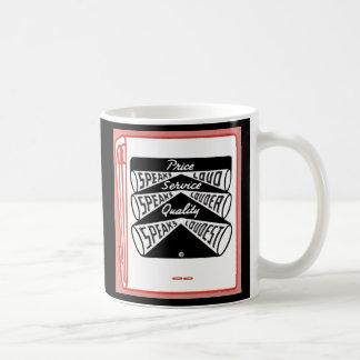 old matchbook cover Price Speaks Loud Coffee Mug