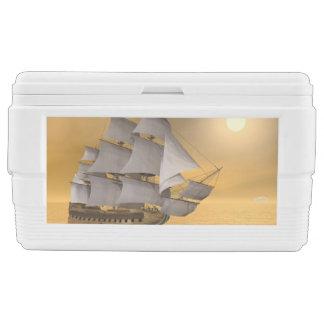 Old merchant ship - 3D Render Cooler