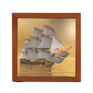Old merchant ship - 3D Render Desk Organiser