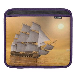 Old merchant ship - 3D Render iPad Sleeve