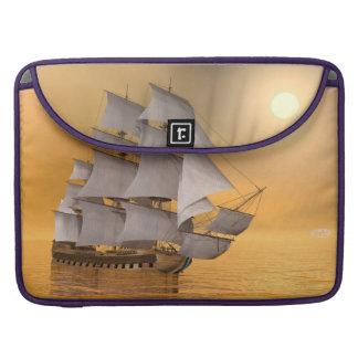 Old merchant ship - 3D Render Sleeve For MacBooks