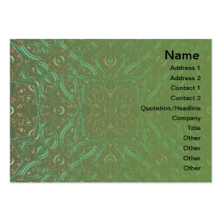 Old Metal Pattern Business Card Template