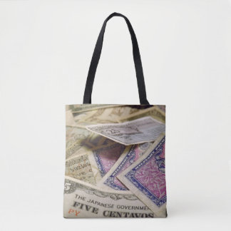 Old Military Money Tote Bag