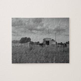 old milking farm jigsaw puzzle
