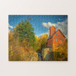 Old Mill in Vermont . Jigsaw Puzzle