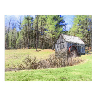 Old Mill Postcard
