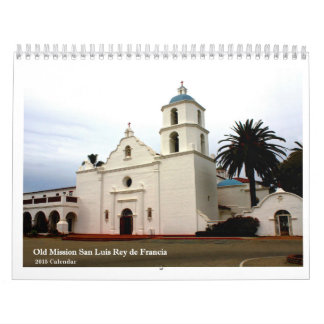 Old Mission San Luis Rey de Francia Wall Calendars