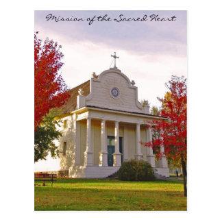 Old Mission State Park - Idaho Postcard