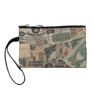Old Money wallet sized bag Coin Wallets