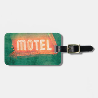 Old Motel Tags For Luggage