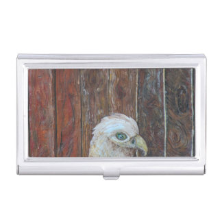 Old Mother Hen Business Card Holder