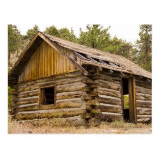 Old Mountain Cabin Postcard