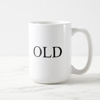 Old Classic White Coffee Mug