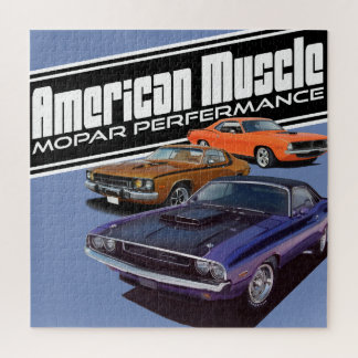 Old Muscle Jigsaw Puzzle