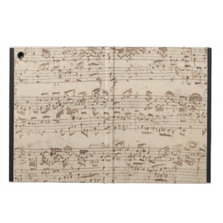 Old Music Notes - Bach Music Sheet iPad Air Cover