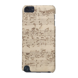 Old Music Notes - Bach Music Sheet iPod Touch 5G Cover