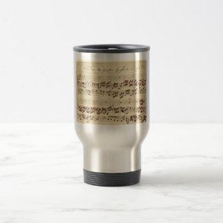 Old Music Notes - Bach Music Sheet Coffee Mugs