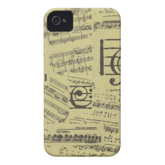 Old Music Paper 2 iPhone 4 Cover