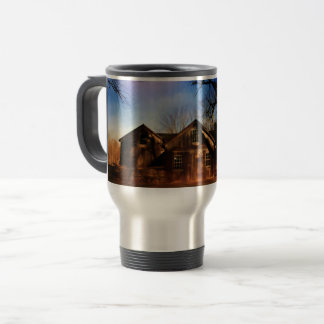 Old New England Barn Travel Mug