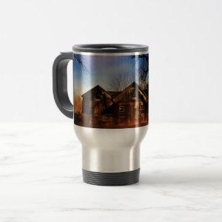 Old New England Barn Travel Mug