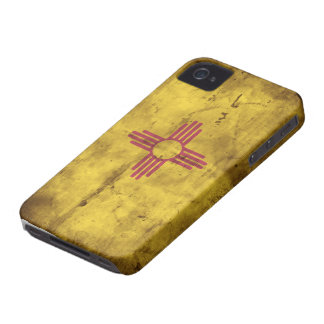 Old New Mexico Flag; iPhone 4 Case-Mate Case