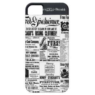 Old Newspaper Ads Times Dispatch iPhone 5 Cases