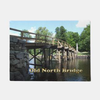 Old North Bridge - Revolutionary War Concord MA Doormat