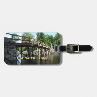 Old North Bridge - Revolutionary War Concord MA Luggage Tag