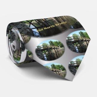 Old North Bridge - Revolutionary War Concord MA Tie