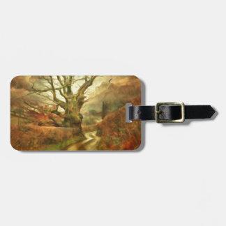 Old Oak Tree ....... Luggage Tag