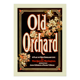 Old Orchard a Play of New England Life Poster