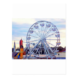 Old Orchard Beach Ferris Wheel New England Postcard