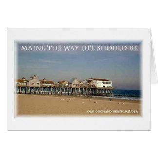 Old Orchard Beach Maine Card
