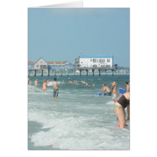 Old Orchard Beach Pier Card