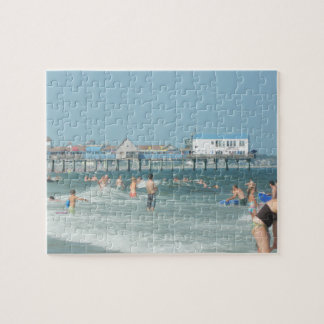 Old Orchard Beach Pier Jigsaw Puzzle