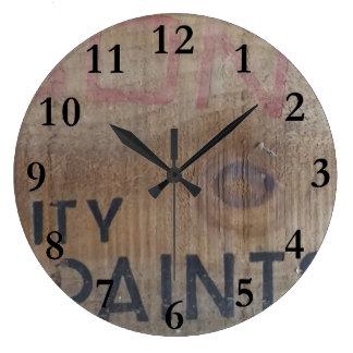 old paint box aotearoa new zealand large clock